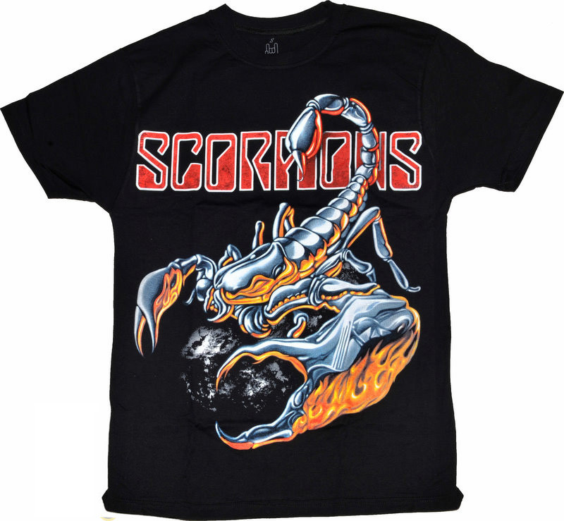Футболка Scorpions (скорпіон)