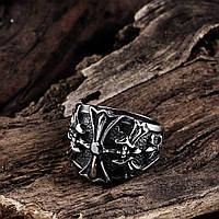 "Перстень ""Хрест з каменем"""