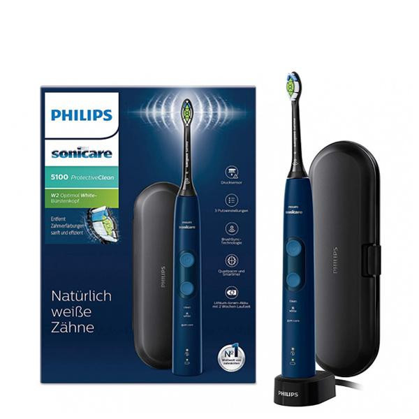Электрическая зубная щетка Philips Sonicare ProtectiveClean 5100 HX6850/47
