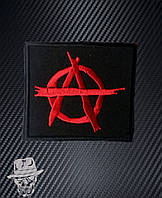 АНАРХІЯ-1 (лого) - нашивка з вишивкою