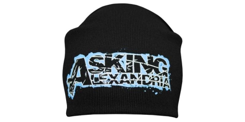 ASKING ALEXANDRIA - шапка-біні - в'язана з накаткою