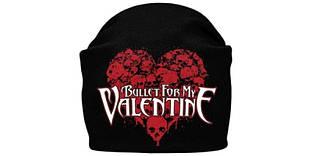 BULLET FOR MY VALENTINE - шапка-біні - в'язана з накаткою