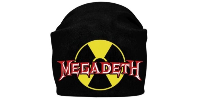 MEGADETH - шапка-біні - в'язана з накаткою