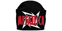 METALLICA (лого) - шапка-біні - в'язання пов'язана з накаткою