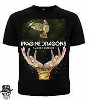 """Футболка Imagine Dragons """"Smoke+Mirrors"""" Mk 1  розмір """"S"""""""