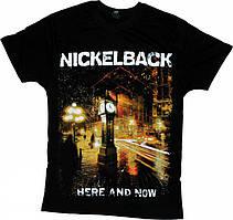 """Футболка Nickelback """"Here And Now"""""""