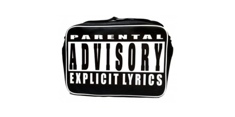 Рок-сумка - PARENTAL ADVISORY Explicit Lyrics