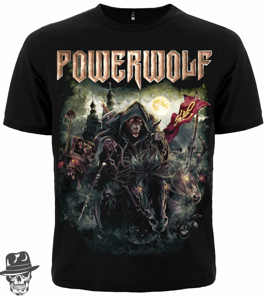 "Футболка Powerwolf ""The Metal Mass"" Mk1"