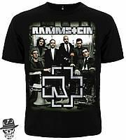 Футболка Рамштайн (photo band with logo)