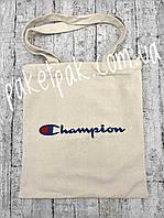 Сумка-шоппер, экосумка Champion, фото 1