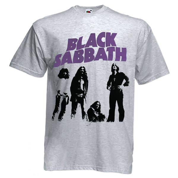 Футболка BLACK SABBATH Masters Of Doom сіра