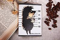Обкладинка для паспорта «Їжачок диллер», фото 1
