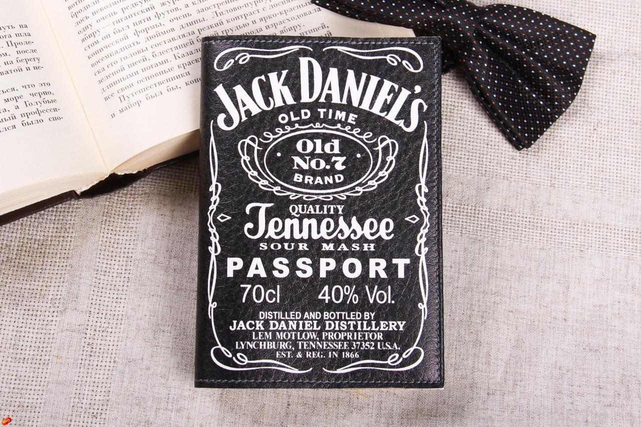 Обкладинка для паспорта «Джек Дениэлс»