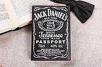 Обкладинка для паспорта «Джек Дениэлс», фото 1