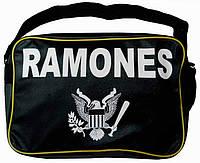 Рок-сумка - RAMONES (жовта)