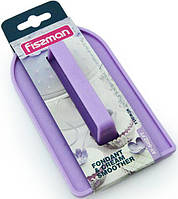 Утюжок кондитерский для разглаживания мастики и крема 14х8см (шпатель пластиковый)