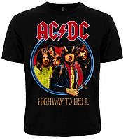 "ФУТБОЛКА AC/DC ""HIGHWAY TO HELL"""