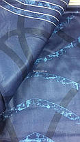 Двуспальный евро комплект TAC Paloma Blue Сатин, фото 2