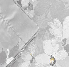 Двуспальный евро комплект TAC Shadow Grey Сатин-Delux, фото 2