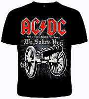 """Футболка AC/DC """"For Those About To Rock"""""""