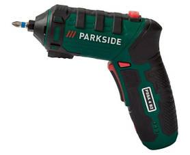 Аккумуляторная отвертка PARKSIDE 4V с резаком PSSA 4 B2 100291340