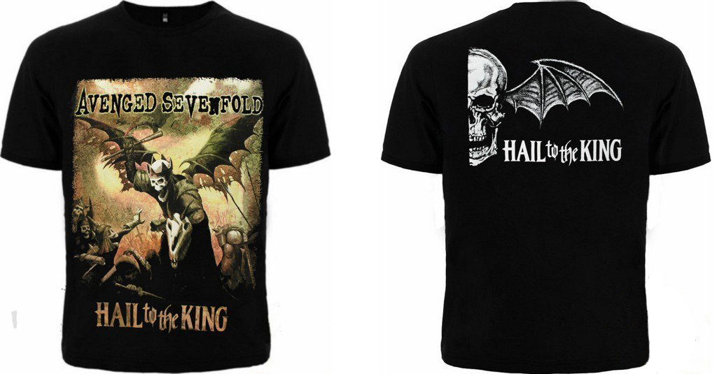 """Avenged Sevenfold """"Hail To The King"""""""