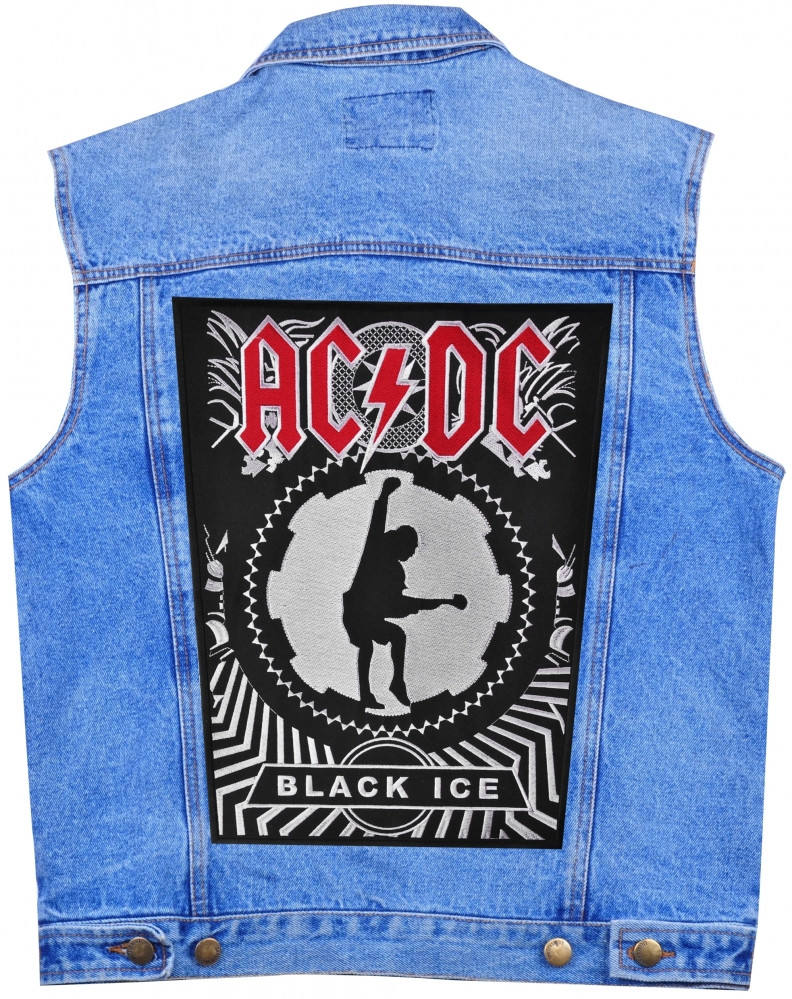 "НАШИВКА НАСПИННАЯ AC/DC ""BLACK ICE"""