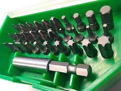 Набір біт автомобільних+магнітний тримач 31ед. TOPTUL GAAW3101