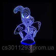 3D Светильник Спайдермен 13-11