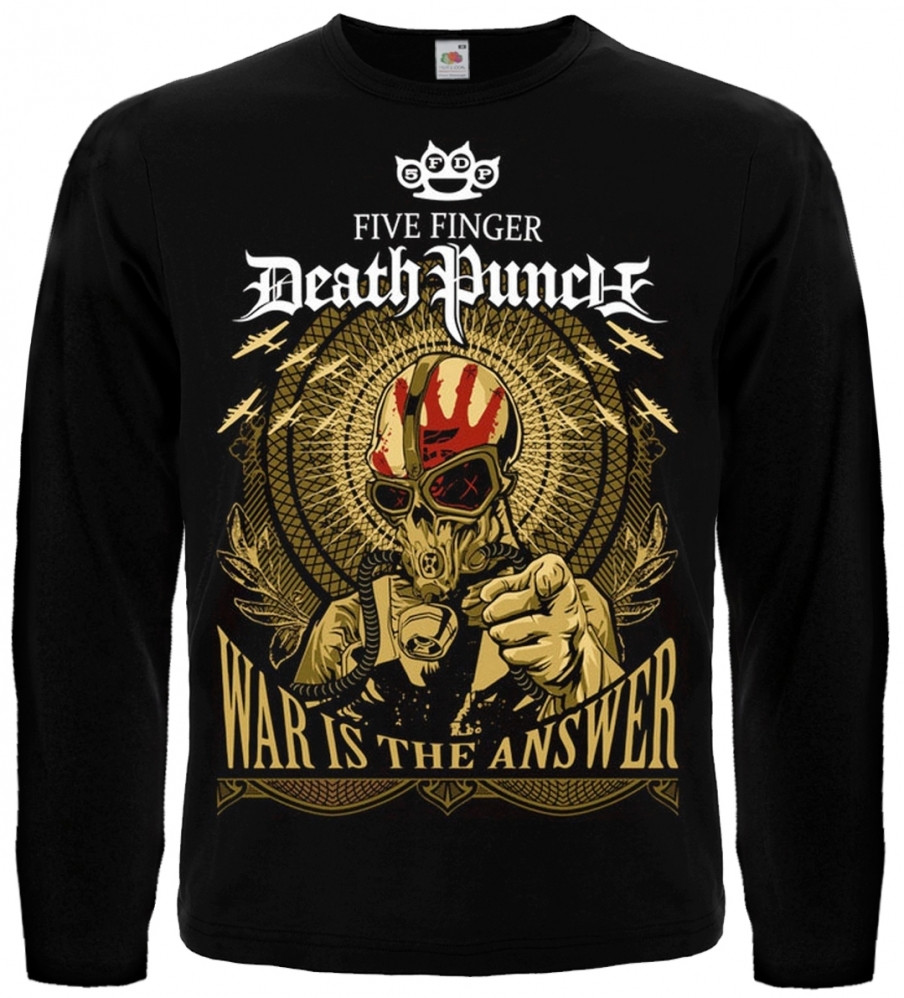 """ФУТБОЛКА Five Finger Death Punch """"War Is The Answer"""""""