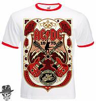 "ФУТБОЛКА-РИНГЕР AC/DC ""CROSSED STRINGS"""