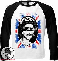 """Футболка з довгим рукавом Sex Pistols """"God Save The Queen"""""""
