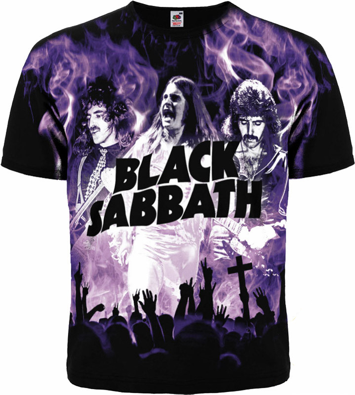 Футболка Black Sabbath (live)