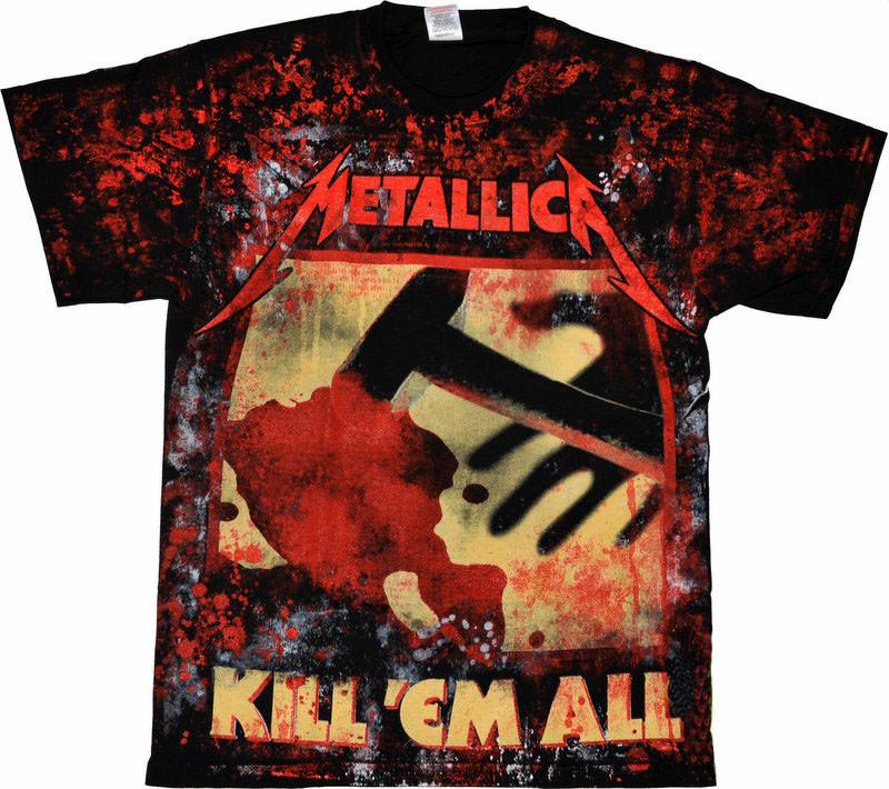 """Футболка Metallica """"kill'em All"""""""