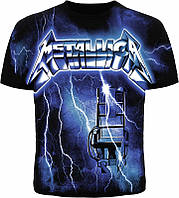 "Футболка Metallica ""Ride The Lightning"" XXL"