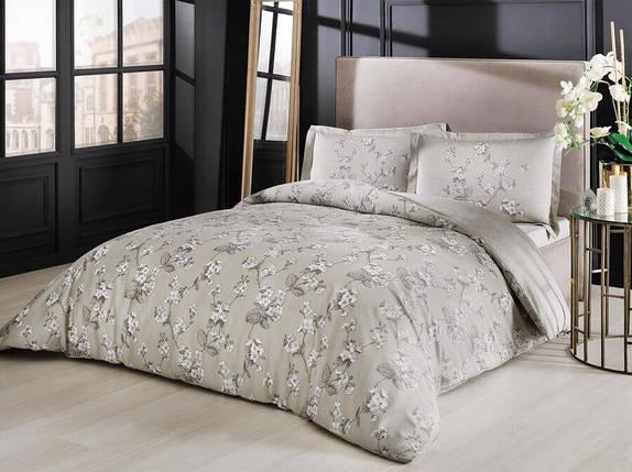 Двуспальный King Size комплект TAC Lennie Tas Сатин, фото 2
