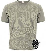 """Футболка AC/DC """"Rock 'n' Roll Train"""" (olive t-shirt)"""