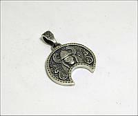 Кулон Валькірія, руна фреї срібло, фото 1