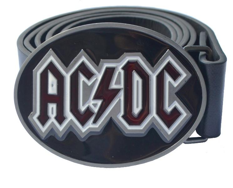 РЕМІНЬ AC/DC (овальна пряга)