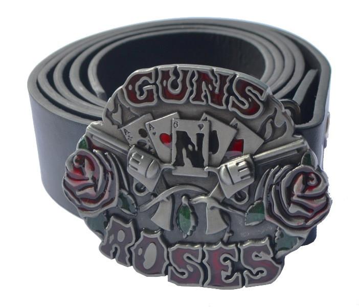 РЕМІНЬ guns'n'roses (лого з картками)