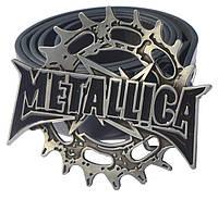 Пряжка Metallica (лого з шестірнею)
