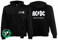 Толстовка на змійці AC/DC Back In Black