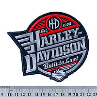 "НАШИВКА HARLEY-DAVIDSON ""BUILT TO LAST"" - нашивка"