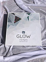Двуспальный евро комплект TAC London Сатин+светится в темноте, фото 3