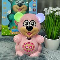 Детская обучающая игрушка Мишка сказочник , интерактивная игрушка, сенсорный мишка