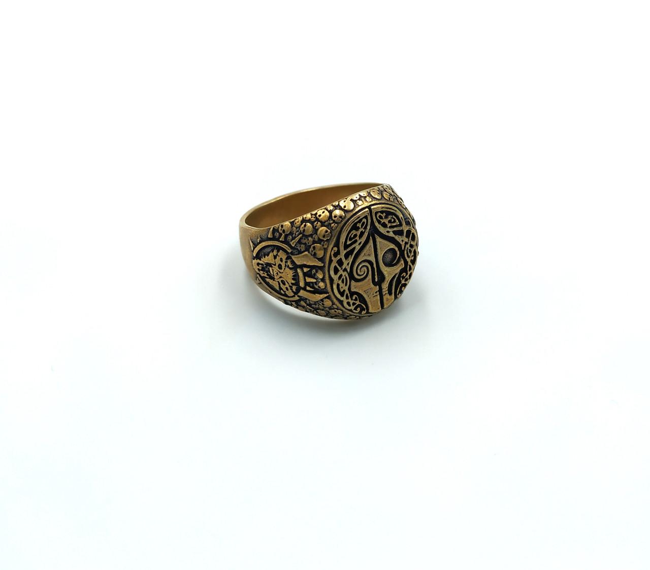 Кільце Hellas бронза