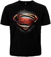 "ФУТБОЛКА SUPERMAN ""MAN OF STEEL"" MK1"