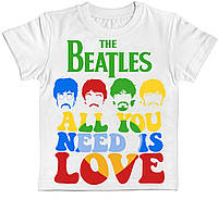 Дитяча футболка The Beatles All You Need Is Love біла