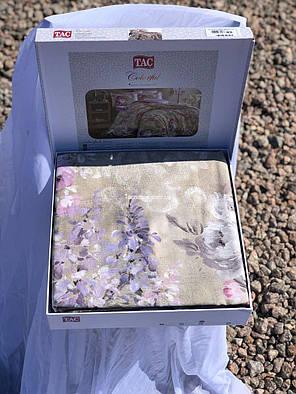 Двуспальный евро комплект TAC Jasmine Сатин-Digital, фото 2