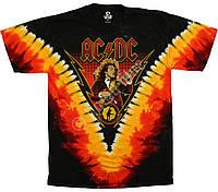 Футболка AC/DC (Angus lightning) TIE DYE